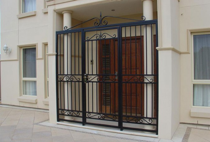 Wrought-Iron-Security-Doors-Photo